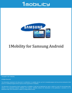 1Mobility for Samsung Android Datasheets