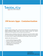 Secure Apps 1Mobility Secure App