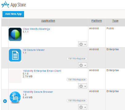 MAM.Application.Distrbution Mobile Apps Management