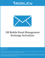 1M Mobile Email Management Exchange ActiveSync Datasheets