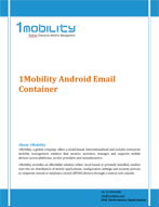 Android Email Datasheet Thumb Android Email Container