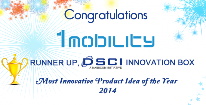 1Mobility named Most Innovative Idea of the Year, DSCI Innovation Box