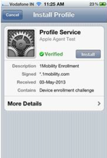Mobile Device Management|MDM|1Mobility